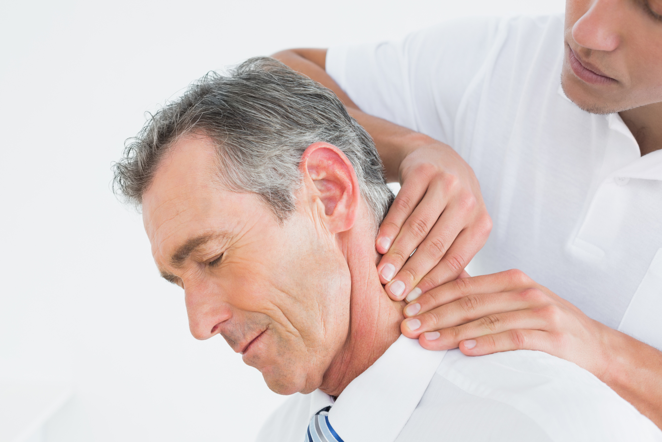 Client with whiplash injuries